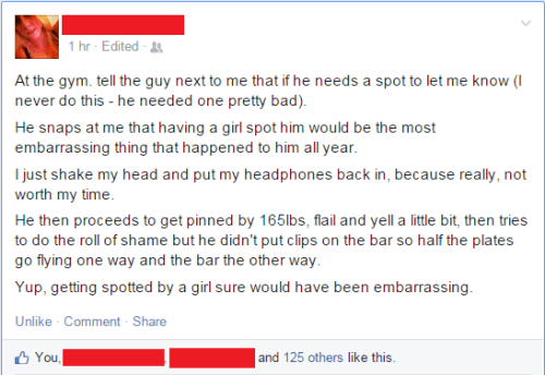 Embarrassment Can Be Crushing, Bro