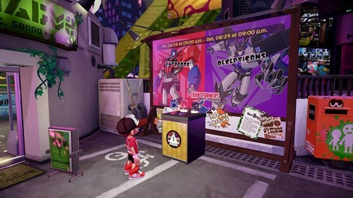 transformers splatfest splatoon - 8553970944