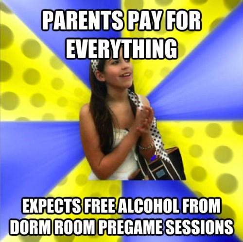 Talent show - PARENTS PAY FOR EVERYTHING EXPECTS FREEALCOHOL FROM DORM ROOM PREGAMESESSIONS