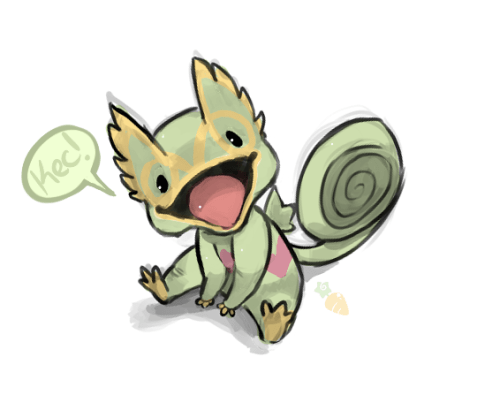 pokemon memes kecleon fan art