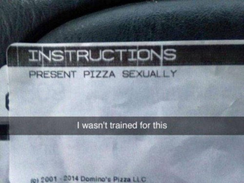 funny memes present pizza sexually