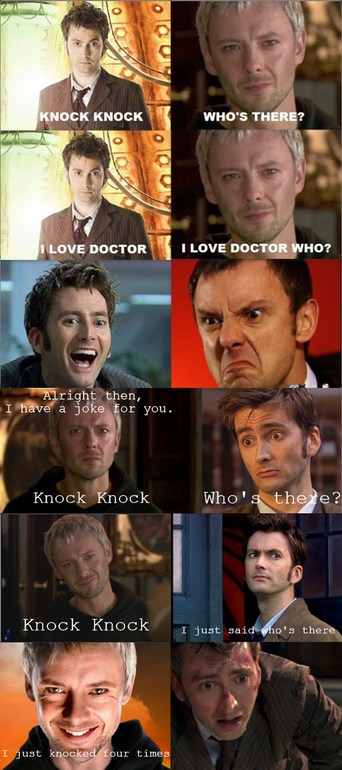 jokes 10th doctor the master - 8554831360