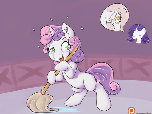 cmc Sweetie Belle rarity - 8554930944