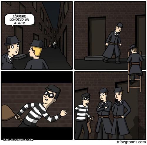 atrapar el ladron