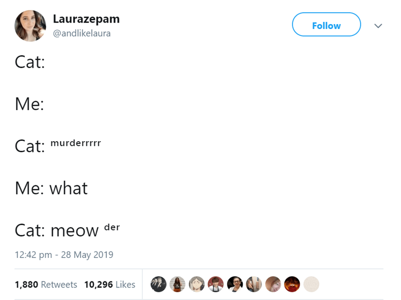 funny tweets about animals and pets in general