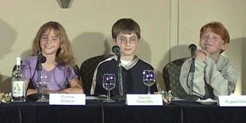 anniversary Harry Potter Daniel Radcliffe jk rowling 15 years rupert grint emma watson - 8555549952