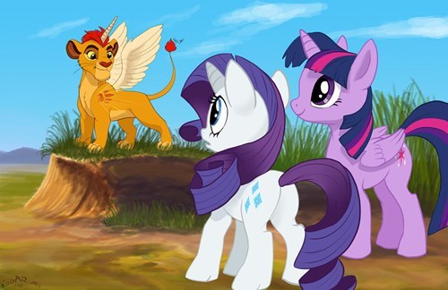 simba MLP alicorn princess lion king - 8555596288