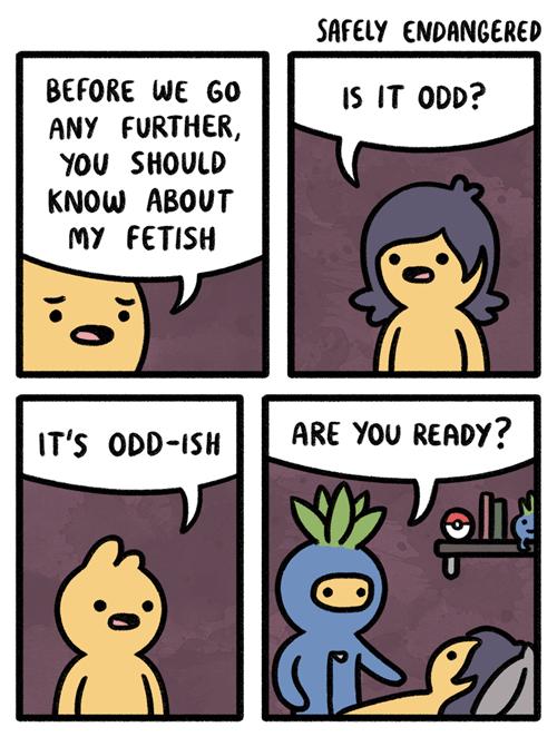 pokemon memes oddish fetish