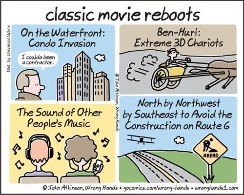 More Classic Movie Reboots