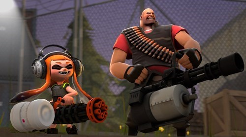 Team Fortress 2 splatoon TF2 - 8555993088