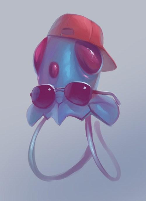 pokemon memes tentacool bro fan art