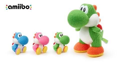 Nintendo announces a mega yarn yoshi amiibo.