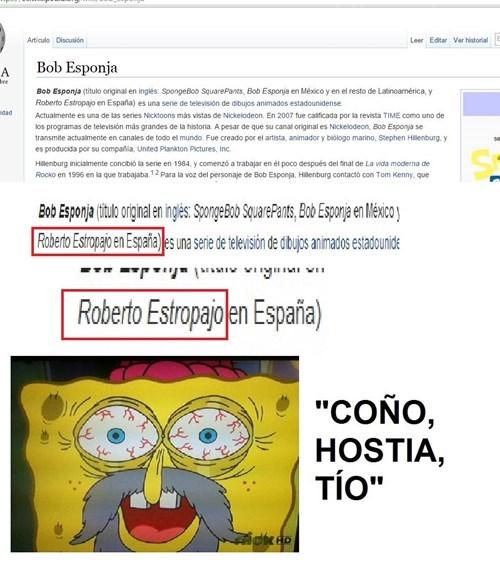bob estropajo