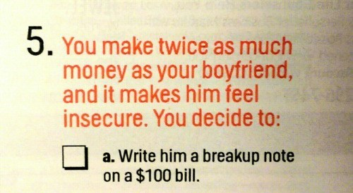 Finally, a Dating Tip in Cosmo Worth Considering