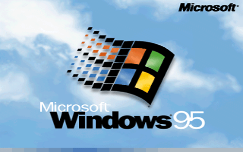 MIcrosoft celebrates 20 years of windows 95