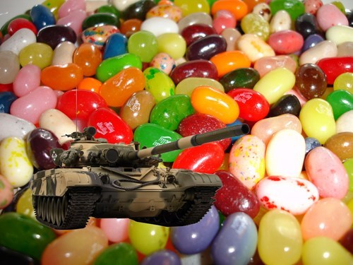 A man died after being run over by a Jelly Belly CEO's husband driving a tank