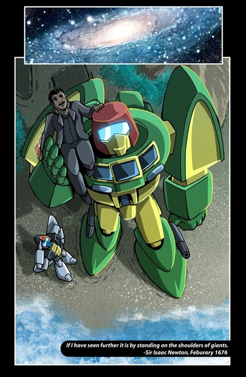 transformers cosmos Fan Art Neil deGrasse Tyson - 8557184000