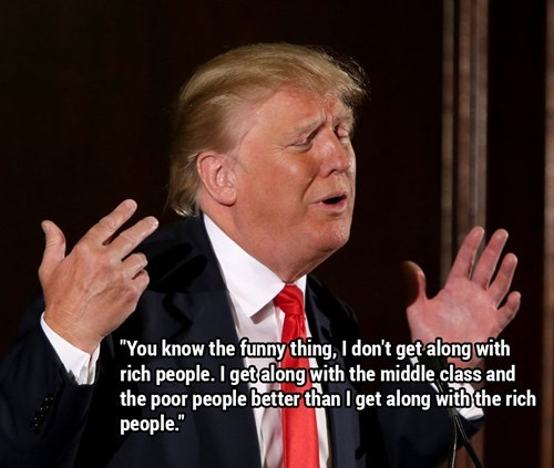 Image of: Donald Trump Meme With Quote About Him Claiming He Doesnt Get Along With Cheezburger The Top 10 Most Ridiculous Quotes Donald Trump Has Ever Said