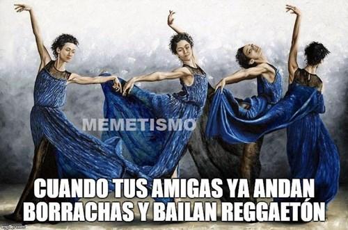 cuando bailan reggaeton