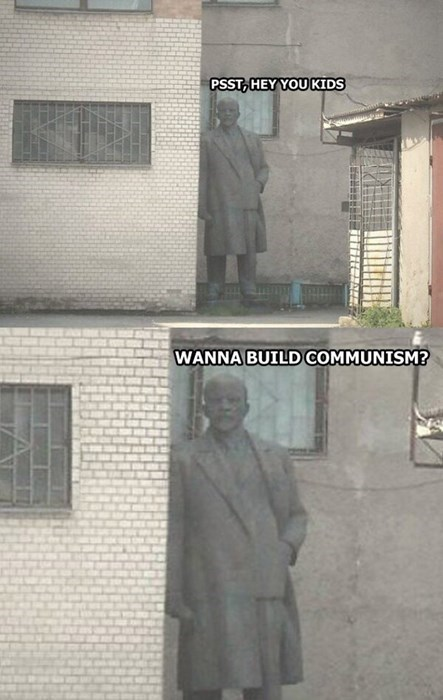 funny memes wanna build communism