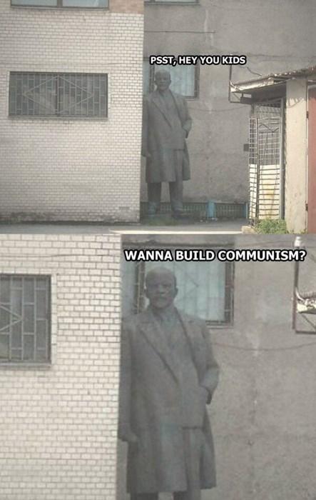 funny memes wanna build communism