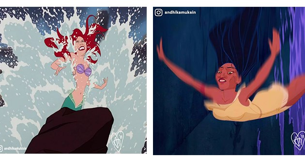 disney princess' in real life situations