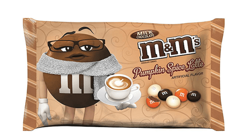 Pumpkin spice m&ms try to be your Starbucks replacement