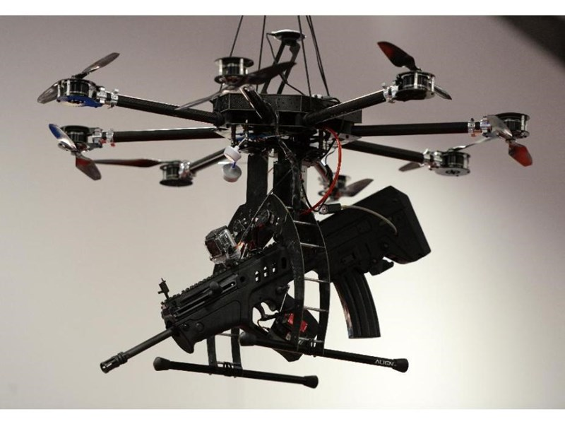 North Dakota Legalizes tasers for police drones.
