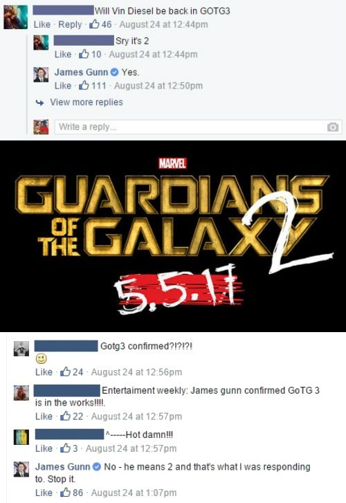 marvel-james-gunn-doesnt-have-time-for-your-nonsense-groot-marvel