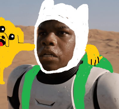 adventure time jokes finn puns star wars - 8558107648