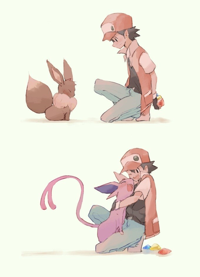 pokemon memes cute eeveelution art