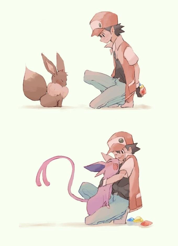 pokemon memes cute eeveelution art