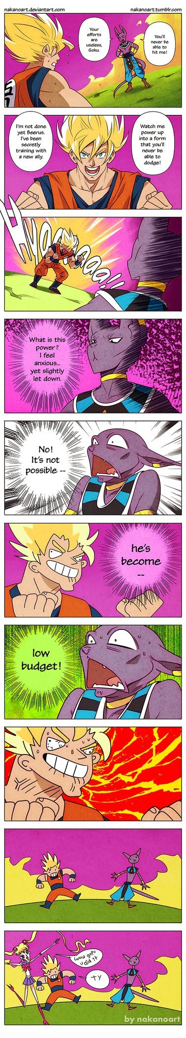 anime Fan Art Dragon Ball Z web comics - 8558259456