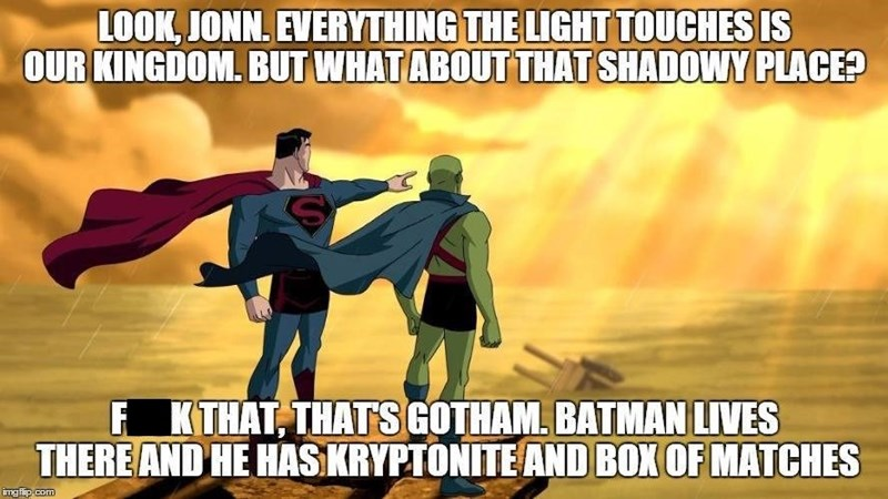 meme lion king martian manhunter superman - 8558287872