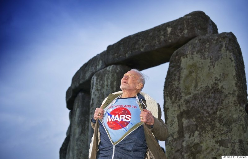 Buzz Aldrin forms a master plan to colonize mars by 2039