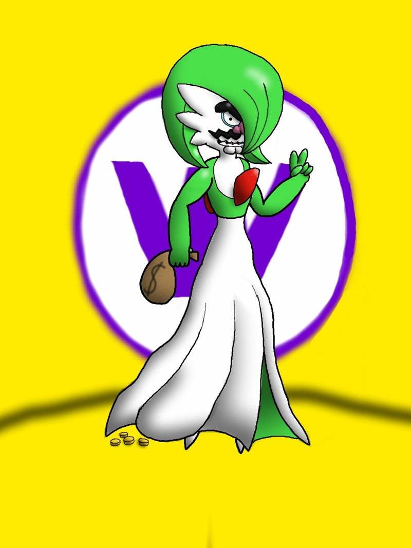 wario,crossover,oh god why,gardevoir