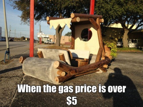 funny memes flintstones gas over five dollars