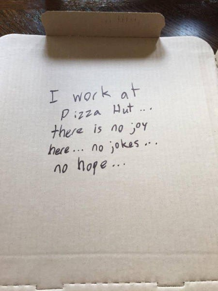 funny memes pizza hut no joy no jokes no hope