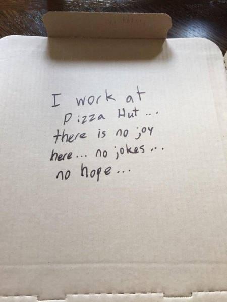 funny memes pizza hut no joy no jokes no hope