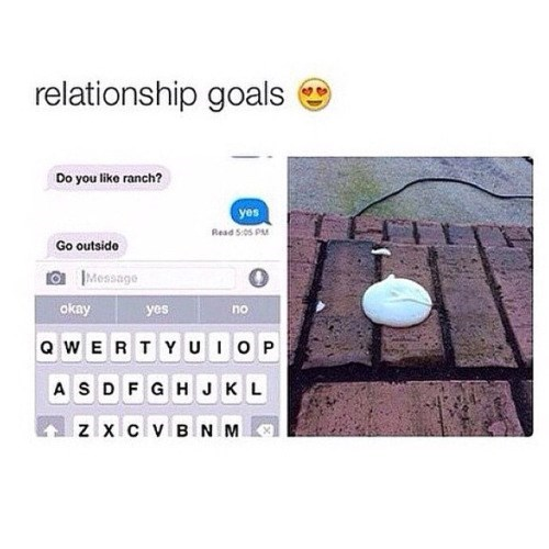 funny memes ranch relationship goals