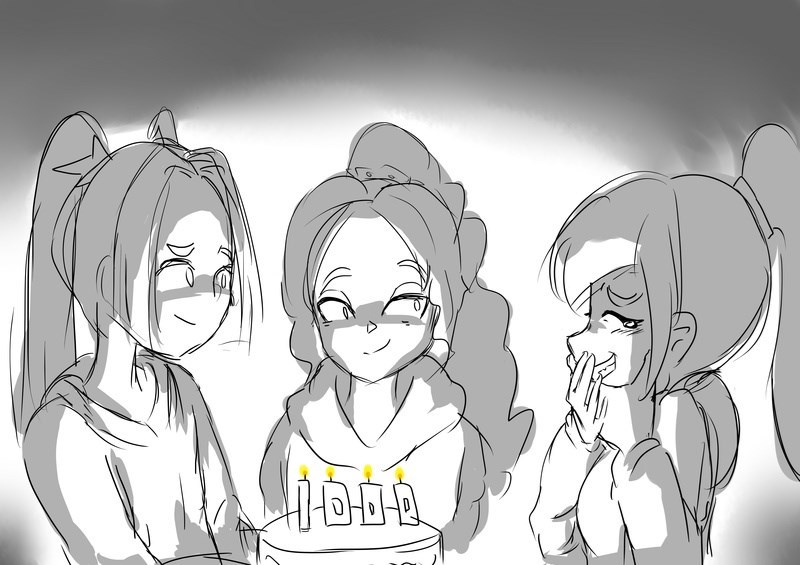 birthday,The Dazzlings,cute