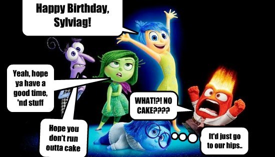 Happy Birthday, Sylviag! From all of us!