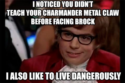 brock,live dangerously
