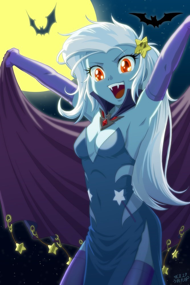 the great and powerful trixie vampire MLP - 8558778880