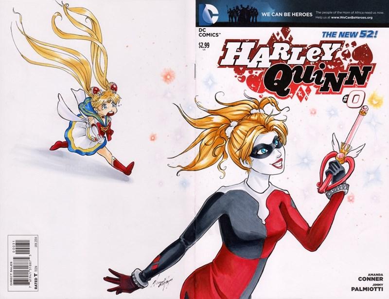 sailor moon Harley Quinn - 8559245312