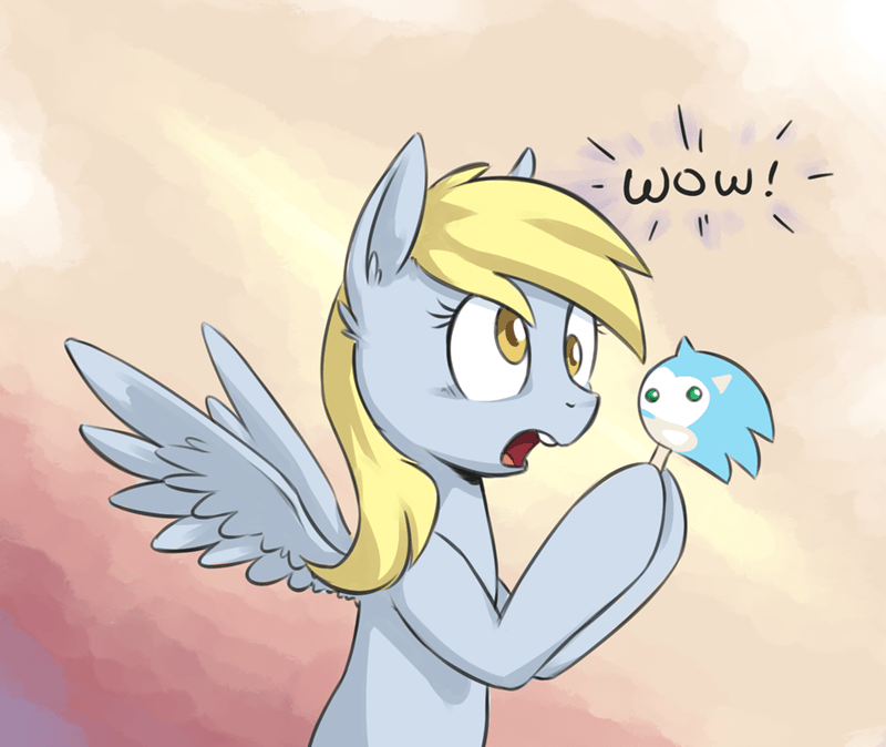 derpy hooves,ice cream,sonic