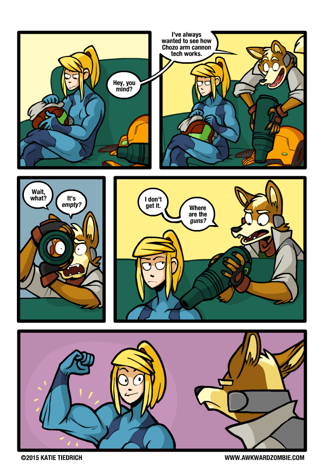 samus fox zero suit samus starfox samus aran web comics - 8559436288