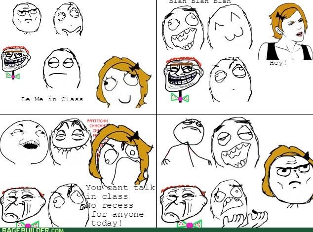 class talking teacher recess