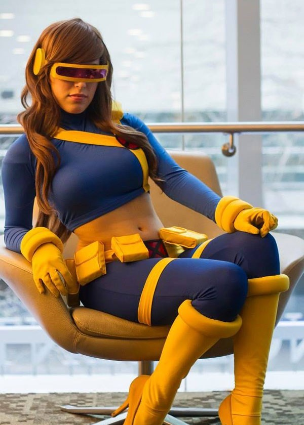 cosplay cyclops xmen ladies - 8559896832
