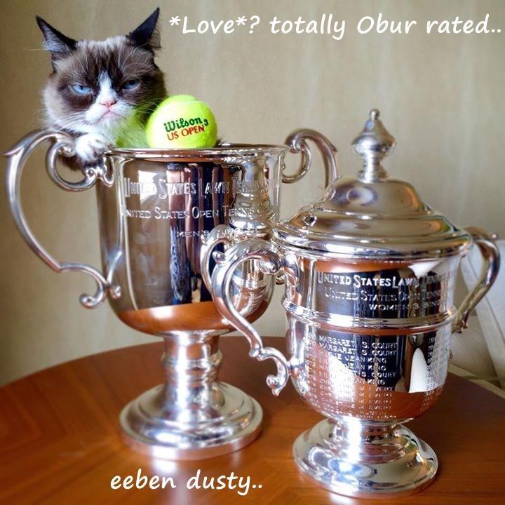 *Love*? totally Obur rated..             eeben dusty..